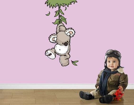 Wandtattoo Wild Friends Koala Joey - Klebefieber