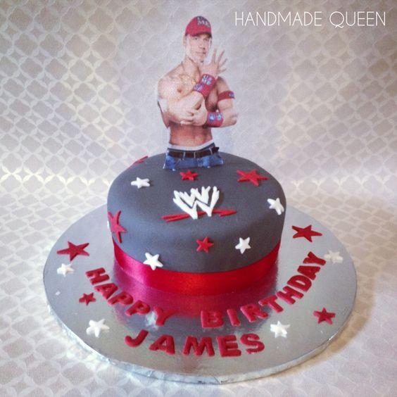 Wwe John Cena Cake Wrestling Johncena Frosted Amp Tasty