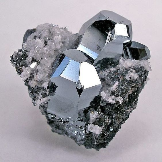 """Hematite - Known as """"The Stone of the Mind"""" helps one to realize the only limitations which exist are self-limiting concepts within the mind. Enhances personal magnetism, optimism, will courage."""