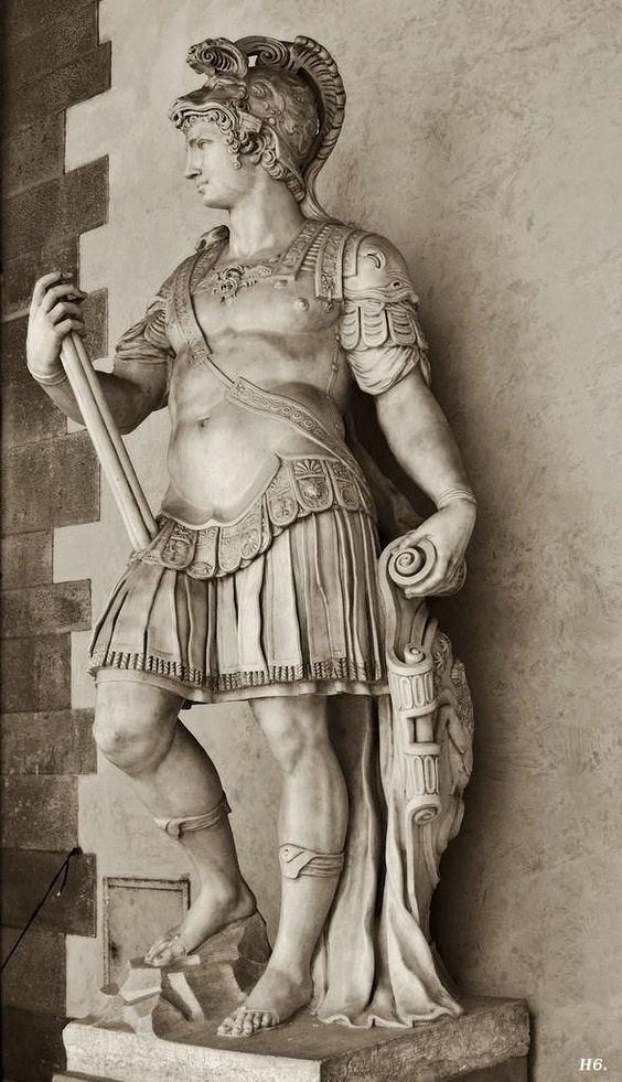 cosimo as Augustus the emeror, Florence Italy | Cosimo de Medici as Augustus. 1568-72. Vincenzo Danti. ... | Art Obje ...
