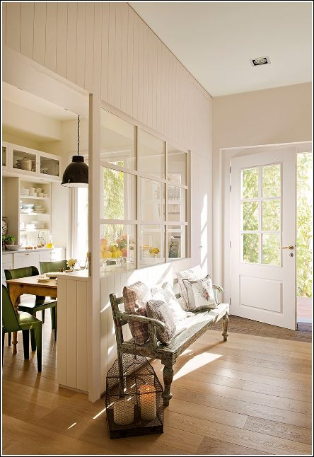 Half Wall From Kitchen To Living Room Interior Windows Half Walls Wall Partition Design