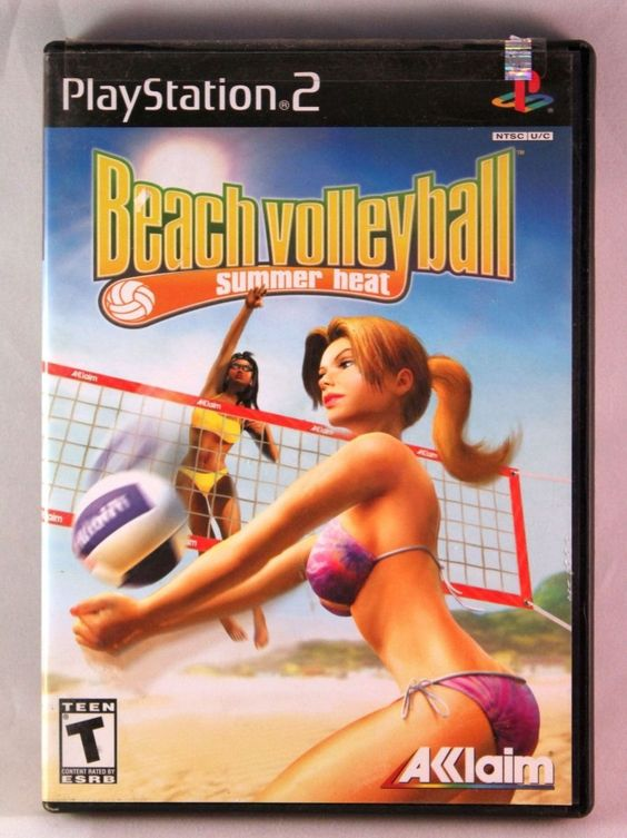 Summer Heat Beach Volleyball (Sony PlayStation 2, 2003) COMPLETE