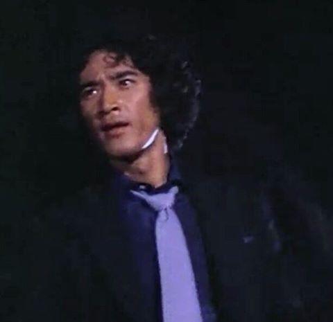 真剣な顔の松田優作