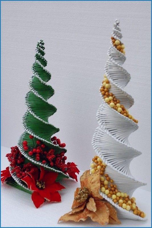 Weihnachtskarten Basteln Kindern Tannenbaum Basteln Papier