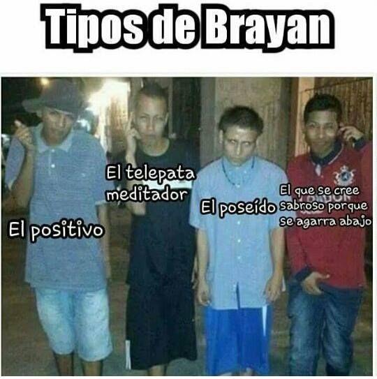 Tipos de Brayan