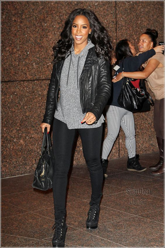 Kelly Rowland.... Cute & Casual