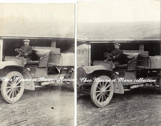 LOT DE 2 PHOTOS ANNEES 1910 11.5 X 7.5 CAMION OPEL http://www.delcampe.fr/page/item/id,0287804498,language,F.html