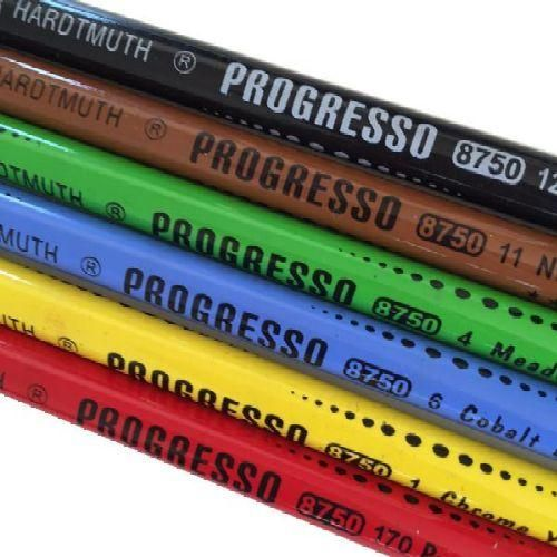 Koh-I-Noor Progresso famentes pasztell ceruza 6 darabos készlet - Színes ceruzák…