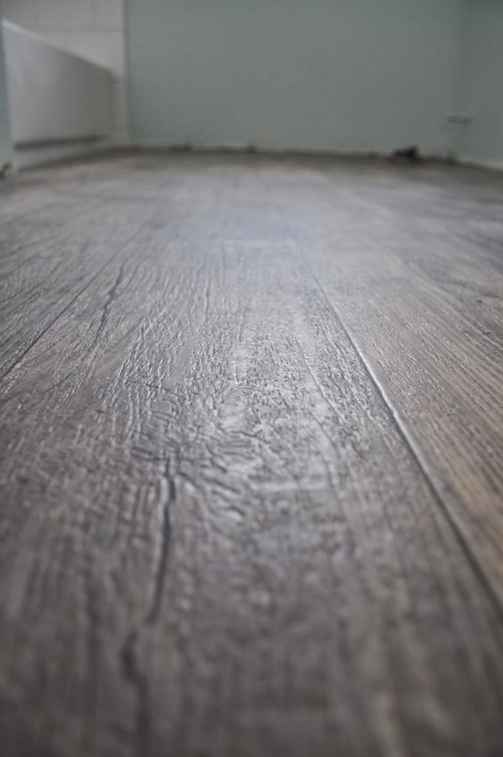 Sheet vinyl that looks like wood salt and the stone for Vinyl flooring that looks like tile