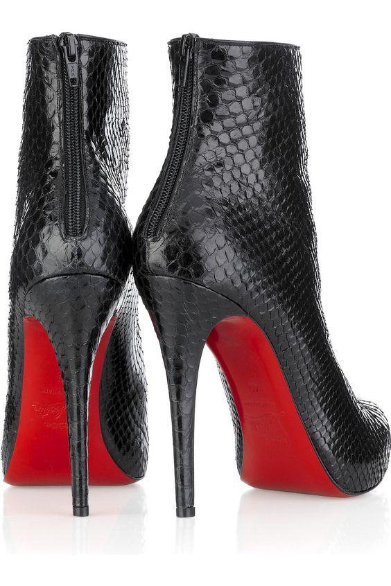 escarpins noir semelle rouge style louboutin