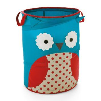 Skip Hop Zoo Storage Hamper Owl: Amazon.co.uk: Baby I'm just not sure we're the cutesy animal type.