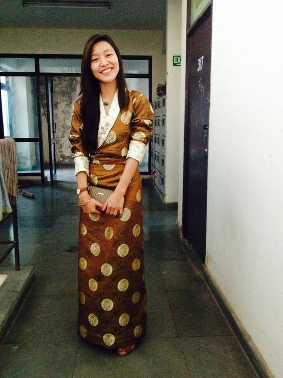 Flaunting my (Tibetan) traditional dress 'Chupa'.. | Out ...