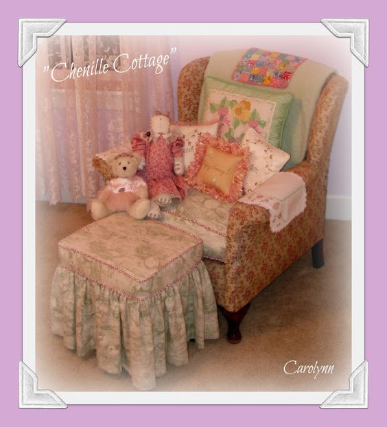 My cottage style guest room www.chenillecottage.blogspot.com