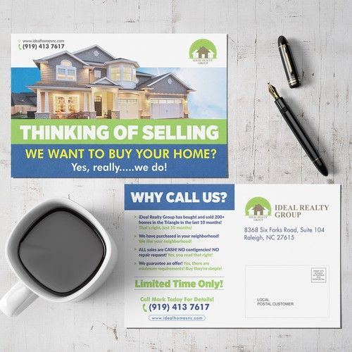 We Buy Houses Cash Because We Have All The Moneys Ohhh Yes Postcard Flyer Or Print Contest Postcard Flyer Print Design