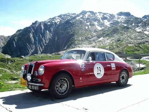 Lancia Aurelia GT Liège-Roma-Liège