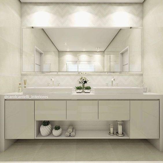 Cantinho lindo do dia! ☺️❤️ Detalhes e referências de todos os acabamentos desse Banheiro no SNAP: Decoremais 👻 @carolcantelli_interiores ☺️