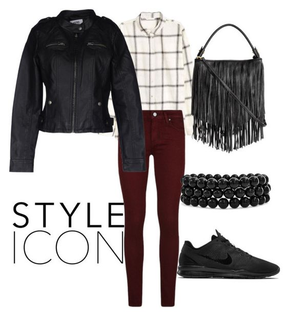 """""""Trendy"""" by kathi9905 ❤ liked on Polyvore featuring NIKE, Paige Denim, Vero Moda and Bling Jewelry"""