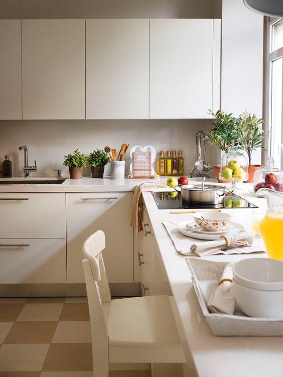 20 ideas para cocinas peque as cocinas y for Cocinas pequenas y practicas