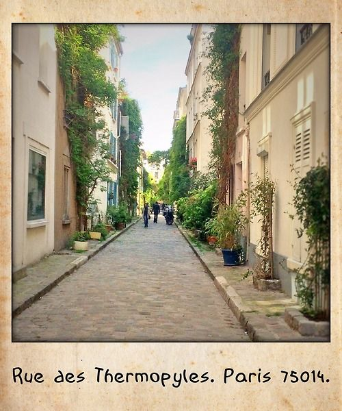 Rue des Thermopyles, Paris 75014.