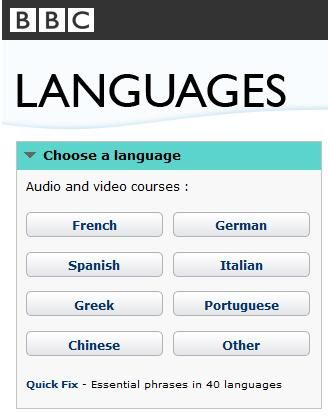 BBC Languages - Free language lessons