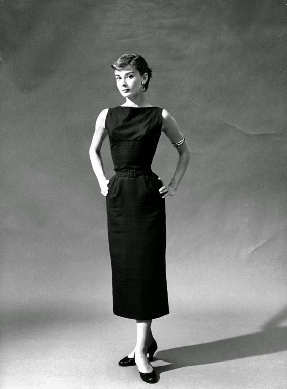 10 style lessons from audrey hepburn in a classic little black dress