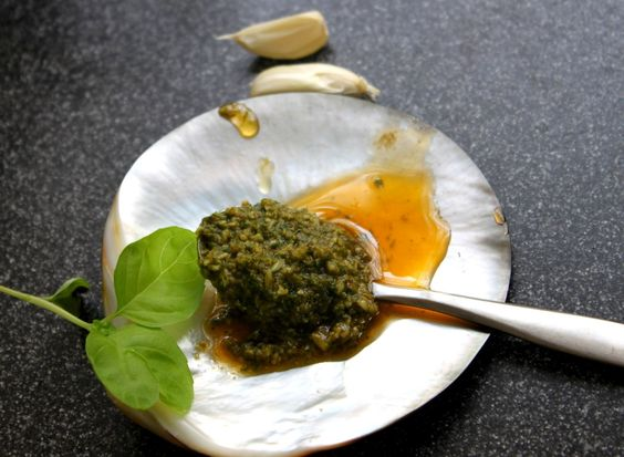 Pesto! Not only for pasta...