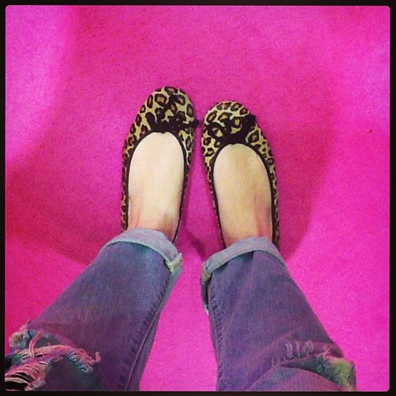 Começando a semana de oncinha!!! #prettyballerinas #prettyballerinasbrasil #animalprint #leopardprint