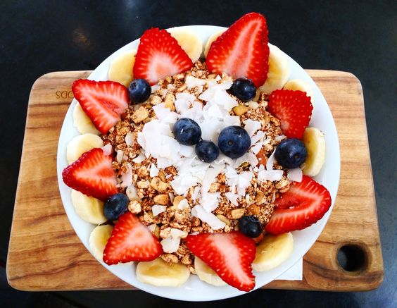 Acai bowl bliss ✌️