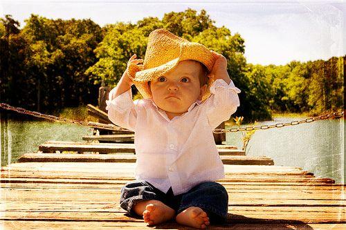Cowboy at the Lake by Rachel Maib