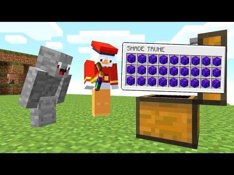 Eine Ganze Kiste Nur Mit Shade Blocken Minecraft Op Lucky Block Bedwars Alphastein Minecraft Server