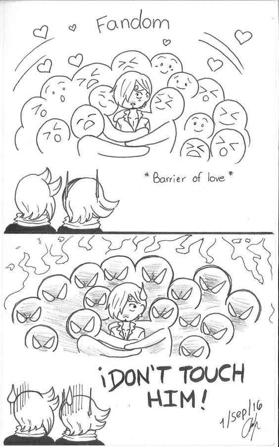 One Piece, Vinsmoke family, Sanji, Reiju, Yonji, mob
