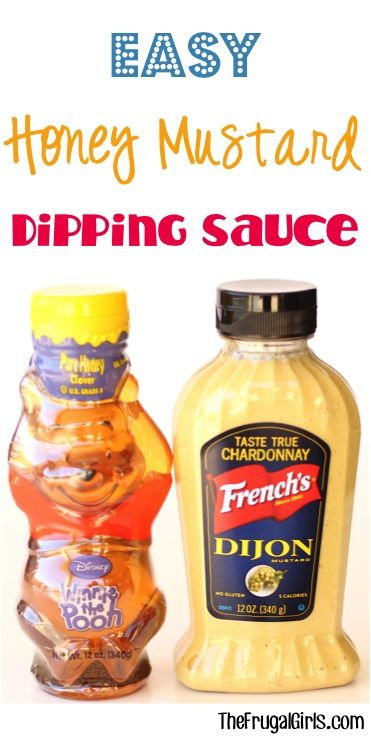 Honey mustard, Dipping sauces and Mustard on Pinterest