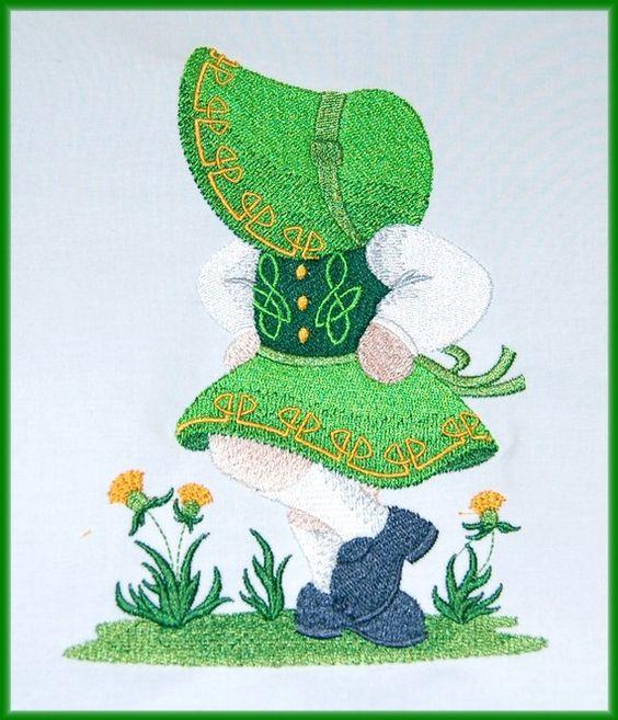 Irish Dancer Quilt Block SAME DAY SHIPPING by IrishNanaDesigns, $30.00