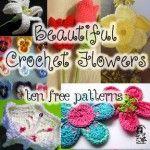 10 Los patrones más hermosa y libre del ganchillo de la flor