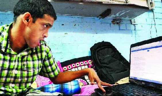 95% disabled, JNU scholar battles huge odds to get PhD - The Times of India on Mobile