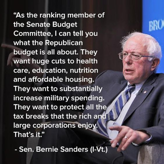 and screw the middle class and Veterans: