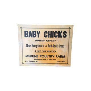 Vintage Baby Chick Trade Advertisement