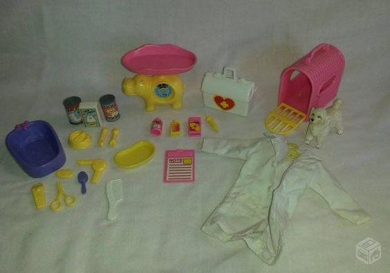 Kit Barbie Veterinária