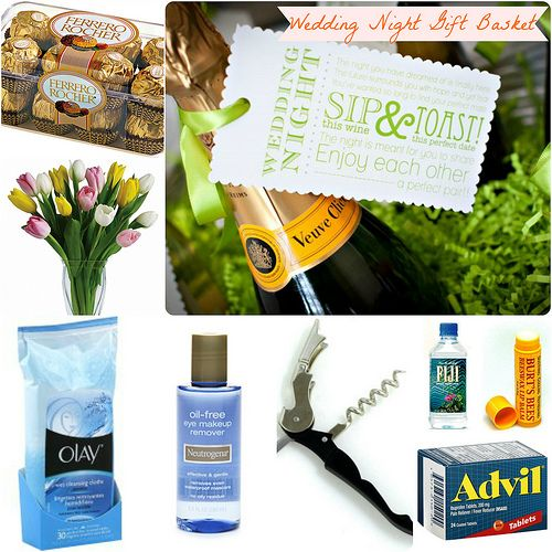 Gifts: The Wedding Night Gift Basket - Sunny Soirees Gift ideas ...