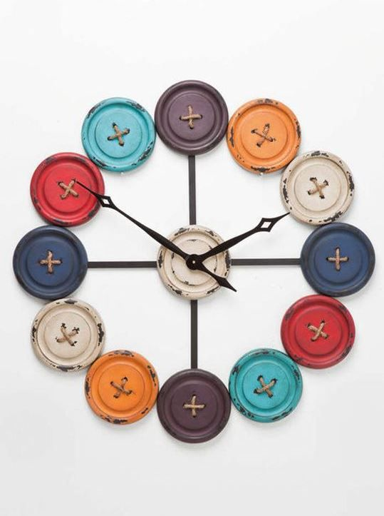 20 Clock Decoration Ideas For Home Decor Handmade Wall Clocks