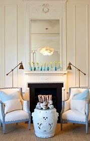 The Pink Pagoda: Blue Print and Collins Interiors