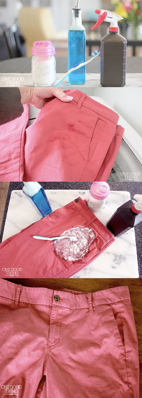 how to get rid of soda stains from