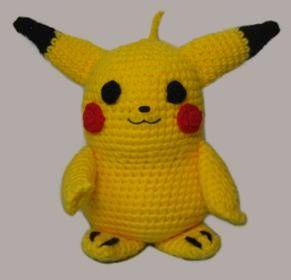 Amigurumi Pokemon Paso A Paso : Pikachu (Pokemon) Amigurumi - Patron Gratis en Espanol ...