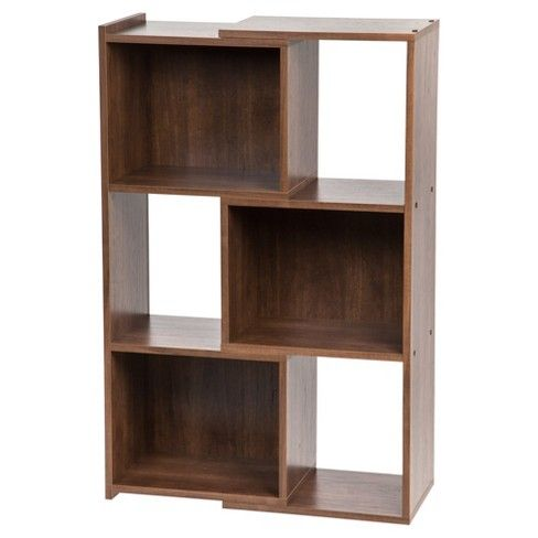 Iris Expandable 30 3 Shelf Bookshelf Dark Brown With Images