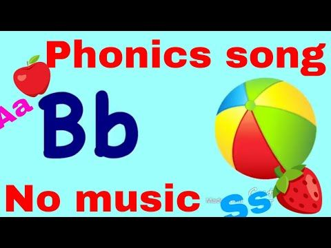 Abc Song Phonics Song Without Music No Music Phonics Learning بدون موسيقي اى بي سي Youtube Phonics Song Abc Phonics Phonics