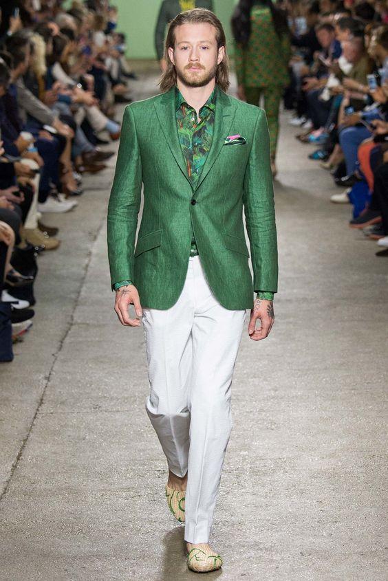 Richard James Spring 2016 Menswear Fashion Show