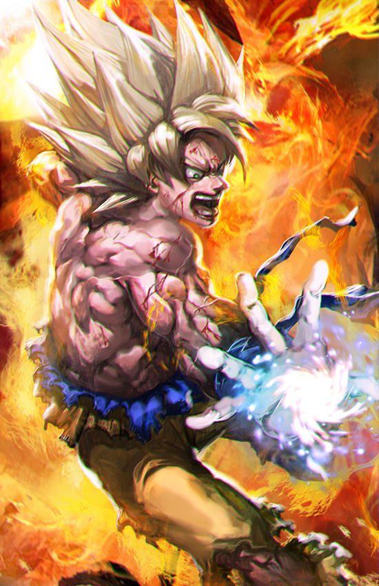Angry Kamehameha By Longai Dragon Ball Artwork Anime Dragon Ball Dragon Ball Art