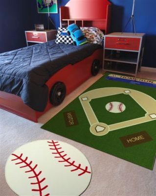 Baseball Area Rugs Home Decor