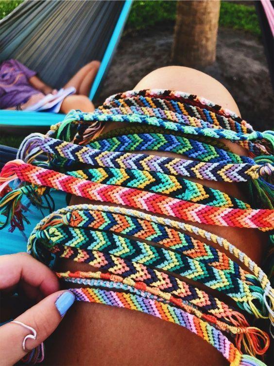 Summer Camp Fashion Flashback To The 70s Friendship Bracelets