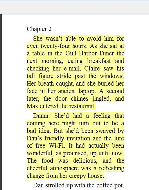 An example of Kindle Highlights for blog post